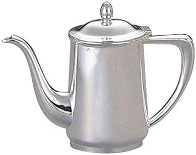 洋白3.8μ小判型コーヒーポット 5人用