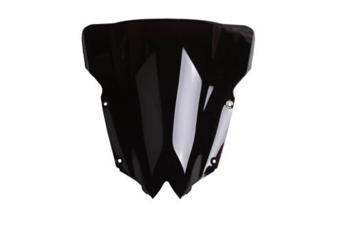 XMT-MOTO Black Windshield Windscreen Double Bubble For YAMAHA YZF R6 2008 2009 2010 2011 2012 2013 2014 2015 2016