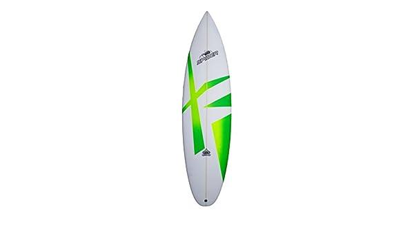 Spider Hydro X Hybrid shortboard - , High Performance Tabla de Surf, onda Jinete Verde, verde: Amazon.es: Deportes y aire libre