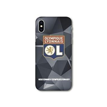 coque iphone xs max olympique lyonnais