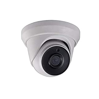 Monoprice 2.1MP HD-TVI Turret Security Camera 1920x1080P@30fps - White with a 2.8mm Fixed Lens, True WDR 120dB, Matrix IR 2.0, and IP66 Weatherproof Rating
