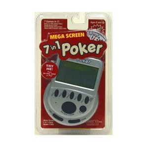 Mega Screen 7 in 1 Poker (Poker Machines)