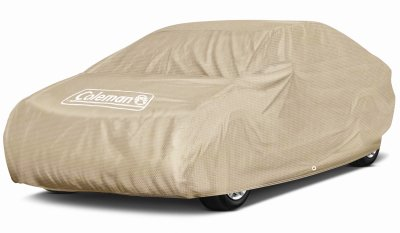 Coleman Premium Executive Car Cover - Indoor-Outdoor Cover Waterproof/Dustproof/Scratch Resistant/UV Protection for Vehicles up to 210