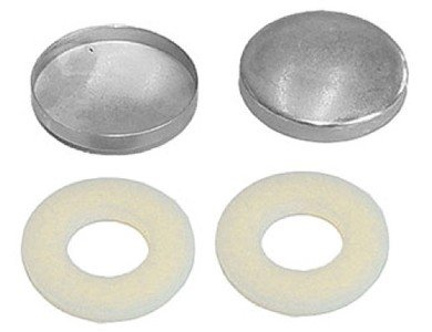 Nylon Snap Ring - 50 Qty: C.S. Osborne & Co. -Covered Button Combo-Nylon Snap Rings w/Soft Shells, Size 36: 7/8