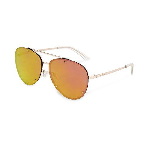 Steve Madden Women's Sm482106 Pink 320 - Sunglasses Madden Aviator Steve