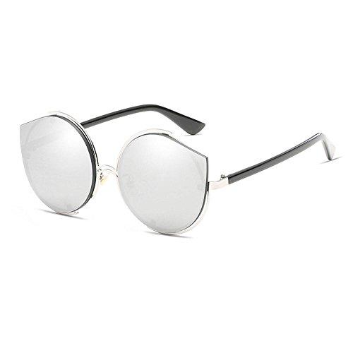 Lunettes film Eye Gray soleil soleil lunettes de soleil classique Metal Cat Mme de anti Shade Lunettes de couleur GAOLIXIA Lunettes UV dwFT4pqWdx