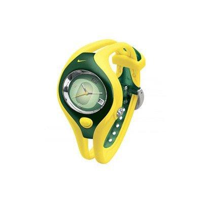 Nike University Oregon (Nike Triax Swift Analog NCAA University of Oregon Team Watch - Yellow/Green - WD0024-701)