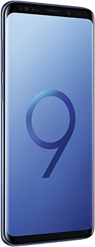 "Samsung Galaxy S9+ Plus (6.2"", Single SIM) 128GB SM-G9650 Factory Unlocked 4G Smartphone (Coral Blue) - International Version"