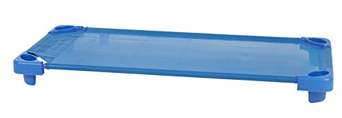 ECR4Kids Children's Naptime Cot, Stackable Daycare Sleeping Cot for Kids, 52