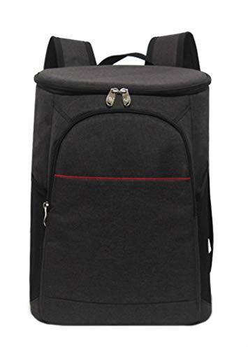 - 18l Picnic Backpack Cooler Bag Lunch Bag for Men for Thermal Style Thermal Bag for Kettle Thermal Bag Door Bag,Black