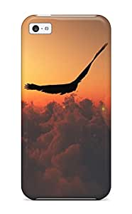 New Premium EQWAUzJ5832zOeUB Case Cover For Iphone 5c/ Eagle Fly Protective Case Cover