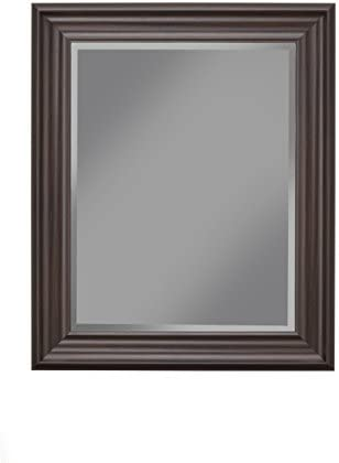 Sandberg Furniture Espresso Wall Mirror