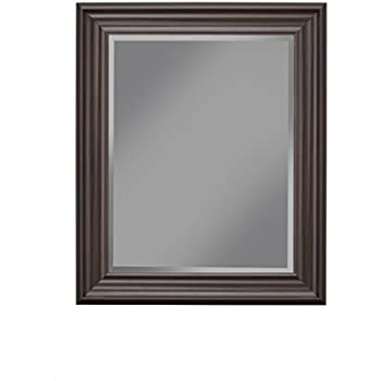 West Frames Napa Vanity Bedroom Bathroom Framed Wall Mirror Espresso 30 X 42