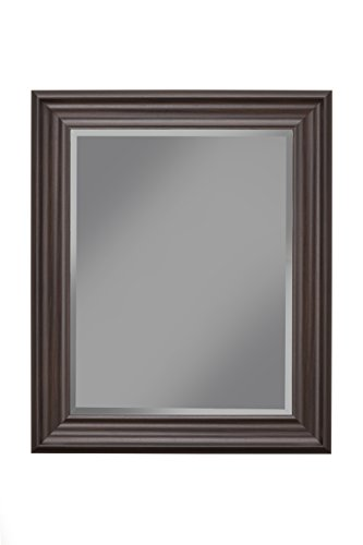 Espresso Mirror - Sandberg Furniture Espresso Wall Mirror, 36