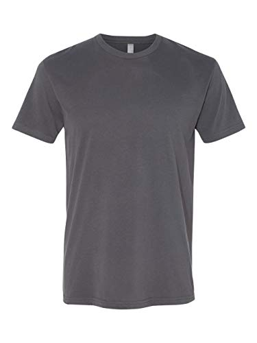 Next Level Apparel Men's Premium Fitted Sueded Crewneck T-Shirt, Heavy Metal, Large from Next Level Apparel