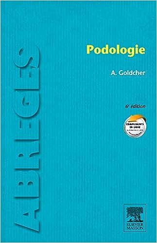 Podologie (Abrégés de médecine): Amazon.es: Alain Goldcher: Libros en idiomas extranjeros