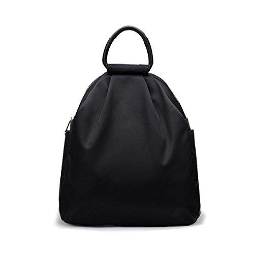 Dos Marée Sac D'achat Black à Sac Simple Par Femme à Black Oxford Loisirs Sac ZAIYI à Sauvage Dos Bandoulière 88r6waq5W