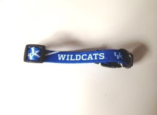 Kentucky University Wildcats Adjustable Pet Dog Collar All Sizes (XS)