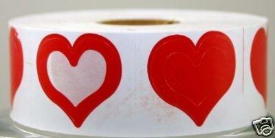 Body Stickers 3-WAY Heart 100 CT