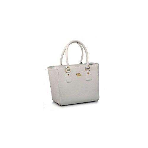 Donna Bag Lucchino 10527 amp; Pelle Shopping Victorio Ghiaccio Di wXHBqxWC