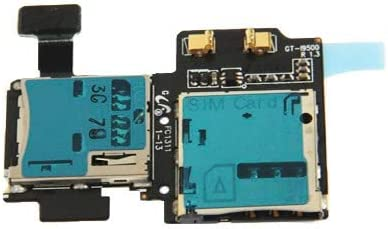 ZHANGJIALI JIALIZ Mobile Accessories Card Holder Adapter Socket Card Flex Cable for Galaxy S IV / i9500