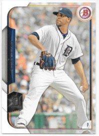 David Price 2015 Bowman Detroit Tigers Card #107