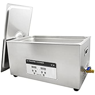 Rhegeneshop 110V Professional Ultrasonic Cleaner 22L Heater Timer Tank Industry Jewelry