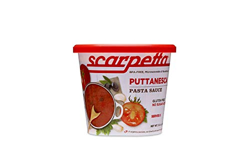 (Scarpetta Puttanesca Sauce, 19.8-Ounce Jars (Pack of 4))