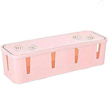 Desktop-Plug-In-Aufbewahrungsbox, Kabel-Plug-In-Board, feste Aufnahmekiste, Netzkabelbuchse, Datenkabelspeicher
