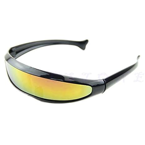 JAGENIE Gafas de Sol para Motocicleta, UV400, antiviento ...