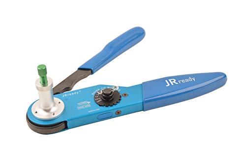 JRready YJQ-W2DT Aviation Crimping Tool Support Size 12,16,20 Solid Contact Work with Deutsch DT,DTM,DTP Qualified to DEUTSCH HDT-48-00 12AWG-22AWG (Hdt 48 00 Deutsch Solid Barrel Crimping Tool)