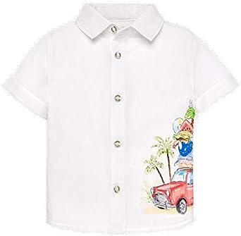 Mayoral Camisa Manga Corta Grafica posicionad Bebe niño ...