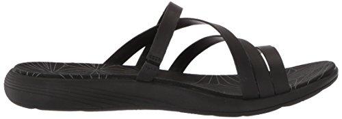 LTR Seaway Black Sandals Slide Duskair Flat Merrell Women's IOqE88