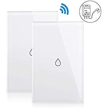 Amazon.com: Smart WiFi Light Switch, 4400W Wireless Boiler ...