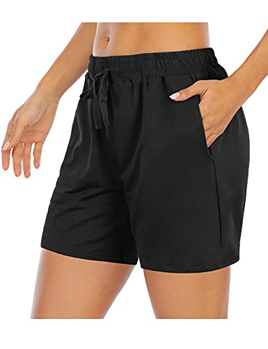 """Tencole Womens 5"""" Athletic Shorts Summer Lounge Shorts for Running Workout"""