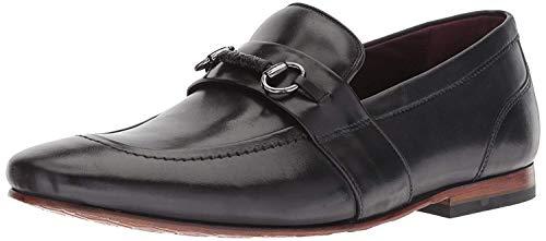 (Ted Baker Men's DAISER Loafer, Black Leather, 16 M US)