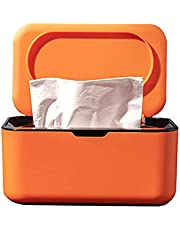 KOOMTOOM Wet Wipe Dispenser,Baby Napkin Storage Box Holder Container Dust-proof Wet Tissue Box Wet Wipe Case Holder with Lid Keeps Wipes Fresh for Car, Home, Office
