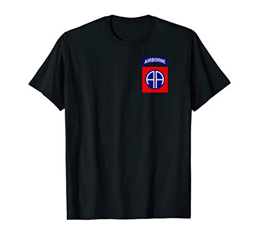 82nd Airborne Shirt - Division Patch