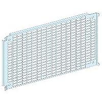 Schneider Electric 03572 Placa Soporte Perforada, 6 Módulos