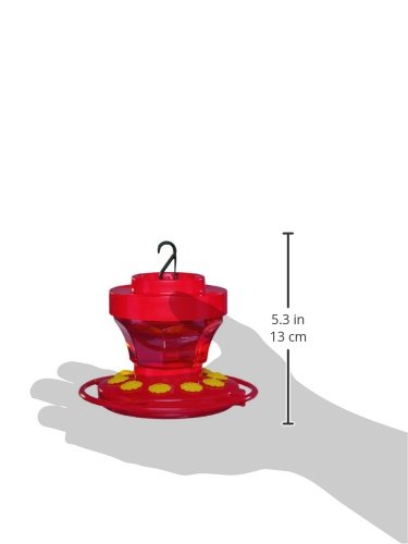 First Nature 3091 16-Ounce Hummingbird Flower Feeder by First Nature (Image #2)