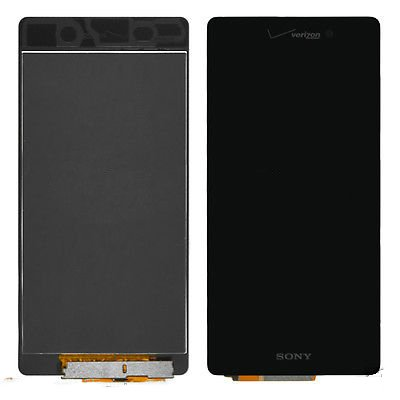 LCD Display Digitizer Touch Screen Assembly For Verizon Sony Xperia Z3V D6708 (Black) (Verizon Touch Screen)