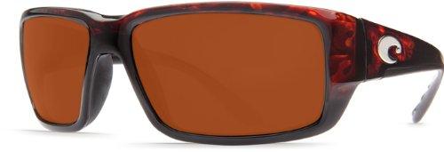Copper Golf Sunglasses - Costa Del Mar Fathom Sunglasses Tortoise Copper 580Plastic