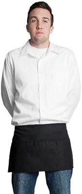 Fiumara Apparel Tuxedo Apron V-neck Center Divided Pocket Made in USA