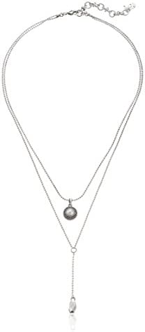Lucky Brand Womens Pearl Delicate Necklace