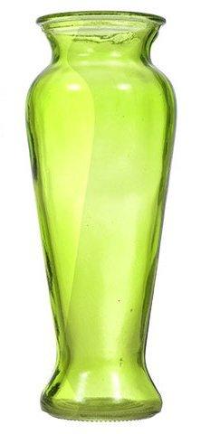 Contoured Elegance Colorful Vases (Green)