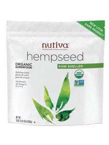 Hempseed, 95% Organic Shelled 19oz (6-Pack) by Nutiva