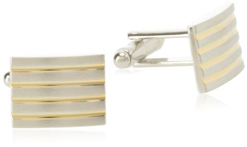 Geoffrey Beene Mens Stripes Cufflinks product image