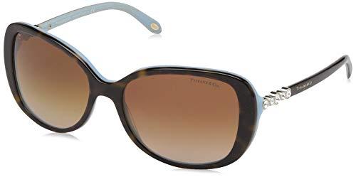 Tiffany TF4089B 8134-3B Tortoise TF4089B Cats Eyes Sunglasses Lens Category 3 - Tiffany And Co