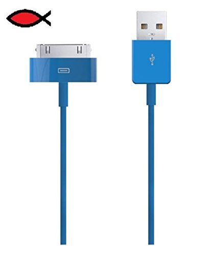 Price comparison product image Lot of 100 PCS Blue High-Speed USB Sync Data Charger Cable Cord for iPod Touch 4th 64GB