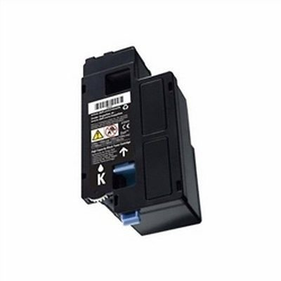 New BLACK Toner for DELL 332-0399, 4G9HP, 7C6F7, Color Laser C1660 / C1660W